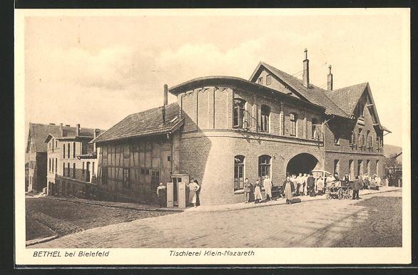Tischlerei Bielefeld ak bielefeld bethel tischlerei klein nazareth nr 8054533