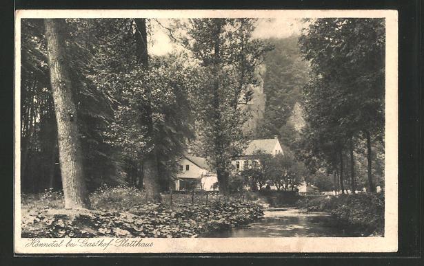 AK Hönnetal-Fröndenberg, Weg zum Gasthof Platthaus