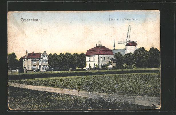 AK Cranenburg, Partie an der Mühlenstrasse 0