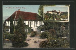 AK Iburg, Gasthaus Forsthaus Freudenthal, Schloss Iburg