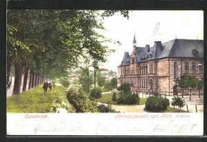 AK Osnabrück, Herrnteichswall und Katholische Schule