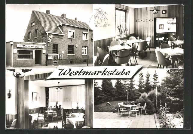 AK Willich-Schiefbahn, Gasthaus Westmarkstube, Albert-Oetker-Strasse 8