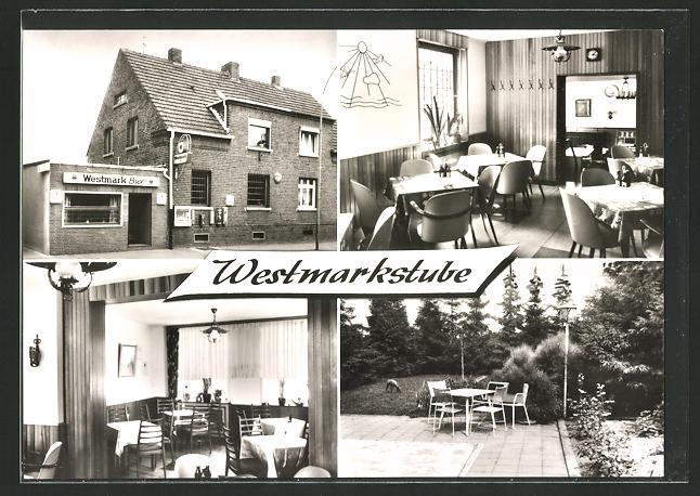 AK Willich-Schiefbahn, Gasthof Westmarkstube in der Albert-Oetker-Strasse 8
