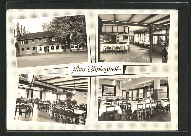 AK Dülmen / Westf., Gasthaus Bispinghoff