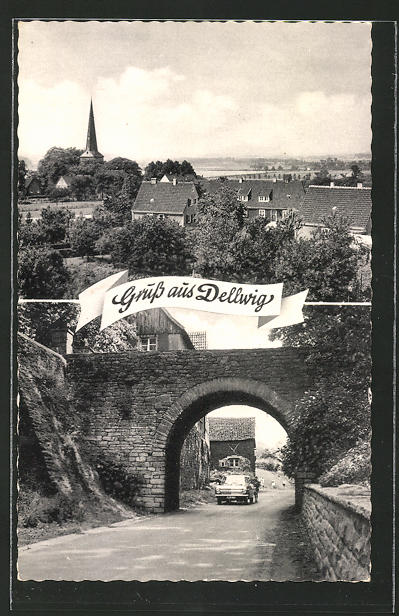 AK Dellwig, Strassenansicht, Panorama