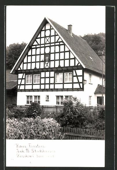 AK Züschen / Sauerland, Haus Försters