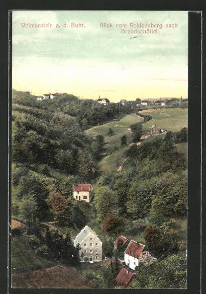 AK Volmarstein / Ruhr, Blick vom Schlossberg