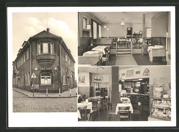 AK Wanne-Eickel, Cafe-Restaurant Zur Erholung, Dorstener Strasse 243