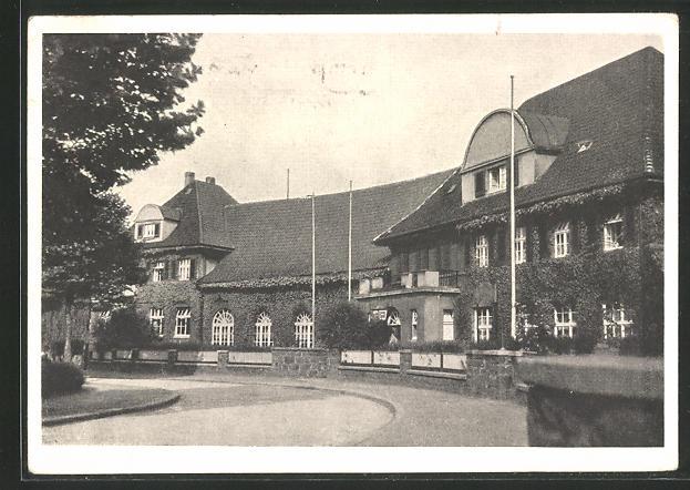 AK Dortmund-Barop, Restaurant Schönau