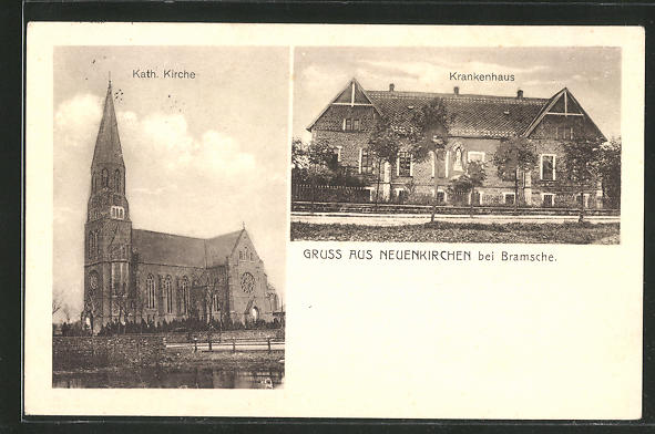 AK Neuenkirchen, kath. Kirche, Krankenhaus