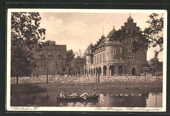 AK Gladbeck, Haus Wittringen, Volkserholungsstätte