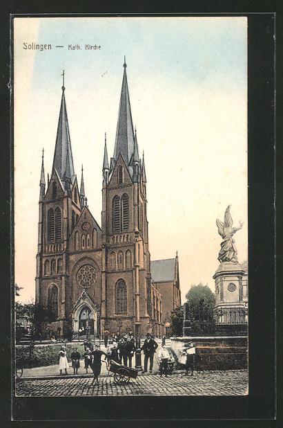 AK Solingen, An der kath. Kirche