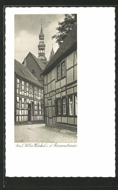 AK Soest, Alter Winkel i. d. Rosenstrasse