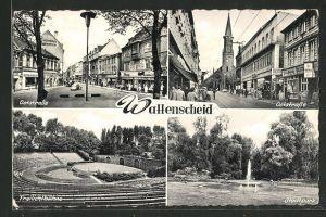 AK Wattenscheid, Oststrasse, Freilichtbühne, Stadtpark