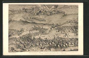 AK Xanten, Schlacht zwischen den Hispanischen und den Statischen 1608