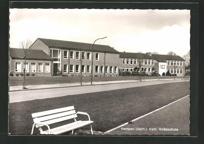 AK Kempen / Niederrhein, Kath. Volksschule