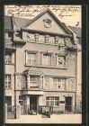 AK Düsseldorf, Häuserpartie Deichstrasse 22-24