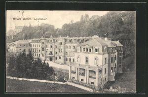 AK Baden-Baden, Ansicht vom Landesbad