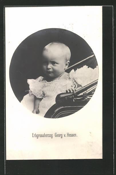 AK Erbgrossherzog Georg von Hessen