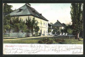 AK Oberndorf, Blick auf ein Gebäude