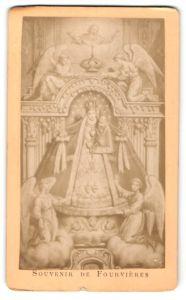 Fotografie Gemälde von unbek. Künstler, Maria mit dem Christkind