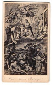 Fotografie Gemälde von unbek. Künstler, Maria mit Jesus
