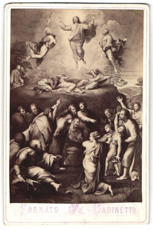 Fotografie Gemälde von Raffael, Verklärung Christi