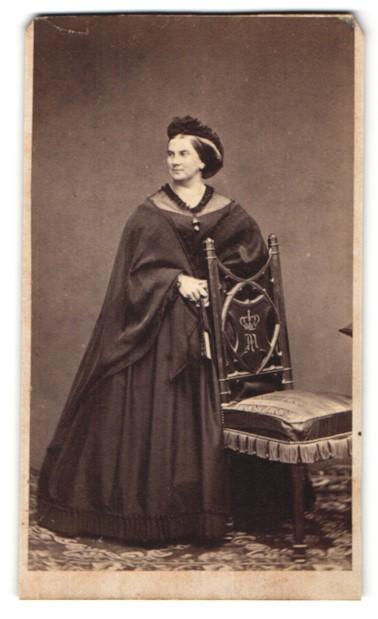 Fotografie Portrait Königin Marie von Bayern