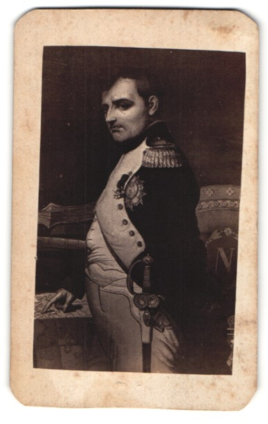 Fotografie Portrait Napoleon Bonaparte in Uniform