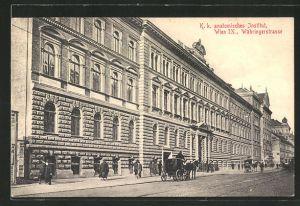 AK Wien, K. k. anatomisches Institut, Währingerstrasse