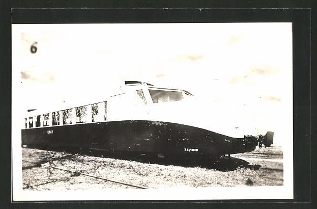 AK französische Eisenbahn, Schnellzug ZZy 25101