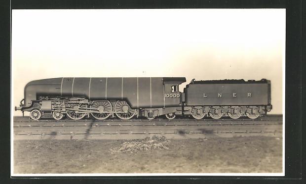 AK High Pressure Compound Express Locomotive No. 10000, englische Eisenbahn-Lokomotive