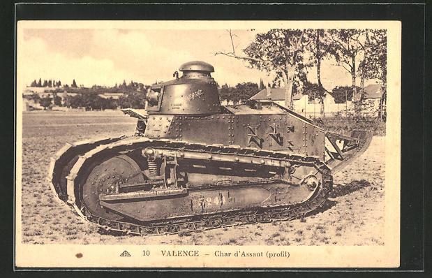 AK Valence, Char d'Assaut, Panzer