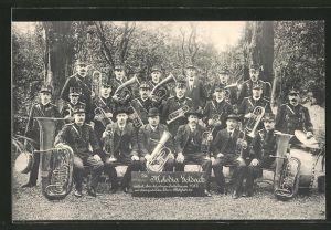AK Goldach, Ehren-Mitglieder der Melodia Goldach, 25 jähriges Jubiläum 1913