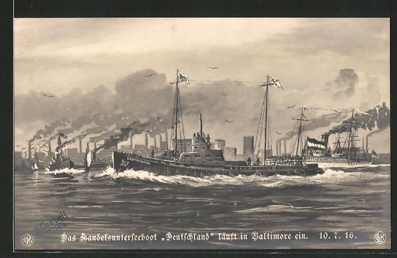 AK Baltimore, Das Handels-U-Boot
