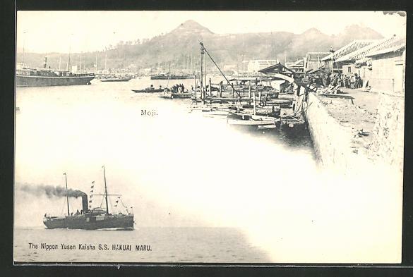 AK Nippon Yusen Kaisha S.S. Hakuai Maru, Moji