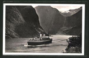 AK Norwegen, Passagierschiff