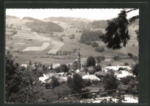 AK Julbach i. Mühlkreis, Ortsansicht aus der Vogelschau