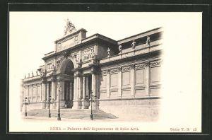 AK Roma, Palazzo dell' Esposizione di Belle Arti
