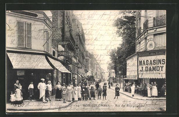 AK Bois-Colombes, Rue des Bourguignons