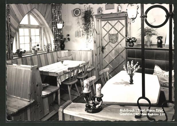AK Bichlbach, Haus Tirol, Im Gastzimmer 0