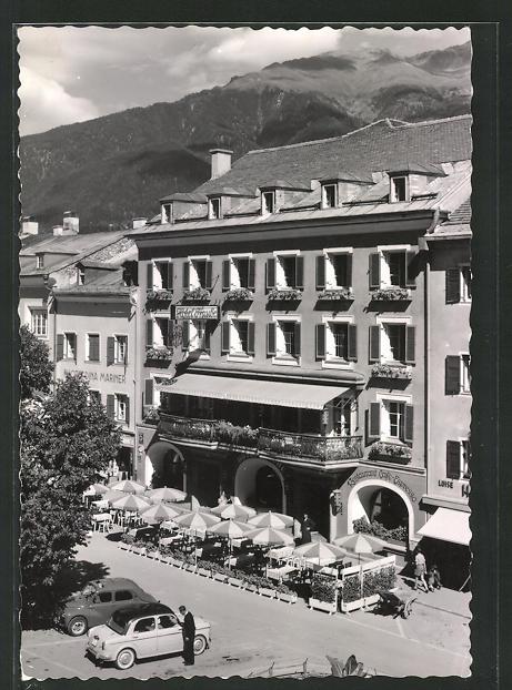 AK Lienz, Hotel Traube, Vorderansicht 0