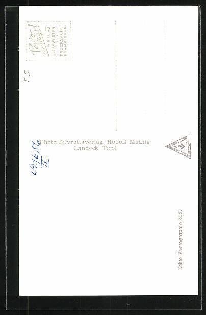 AK Galtür, Gasthaus Alpenrose 1