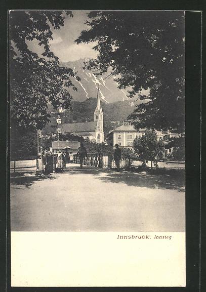 AK Innsbruck, Partie am Innsteg 0