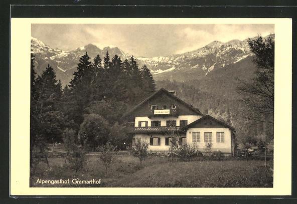 AK Innsbruck, Alpengasthof Gramarthof 0