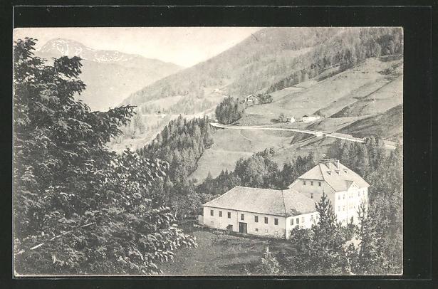 AK Schönberg / Brennerstrasse, Gasthaus zur alten Post aus der Vogelschau 0