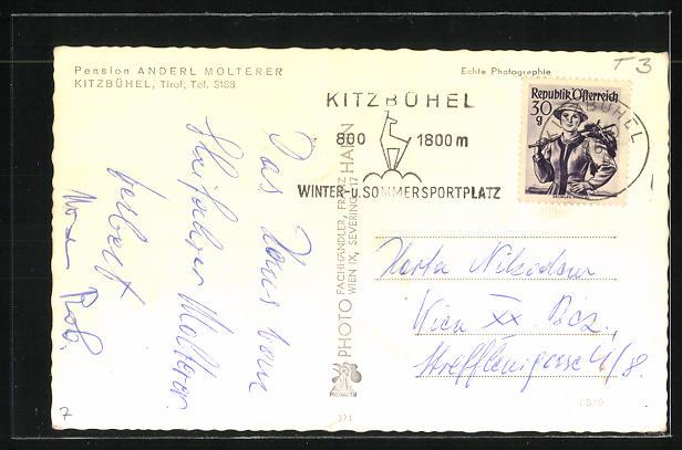 AK Kitzbühel, Pension v. Anderl Molterer 1