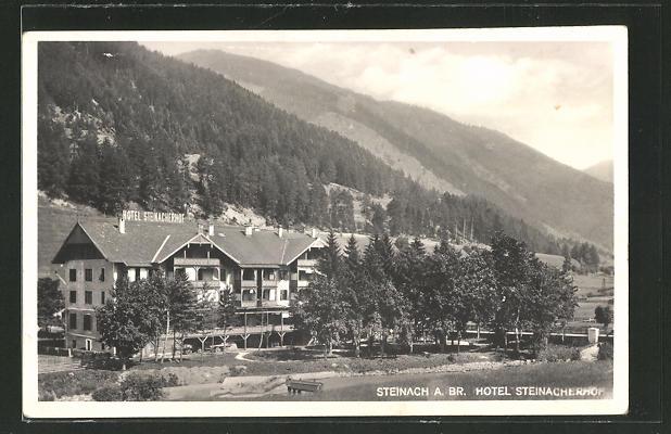 AK Steinach am Brenner, Partie am Hotel Steinacherhof 0