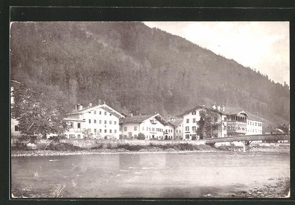 AK Zellbergeben, Ortspartie am Fluss 0
