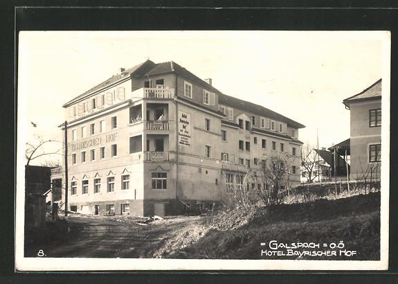 AK Gallspach, Hotel Bayrischer Hof 0